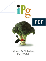 IPG Fall 2014 Fitness & Nutrition Titles