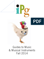 IPG Fall 2014 Guides to Music & Musical Instruments