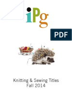 IPG Fall 2014 Knitting & Sewing Titles