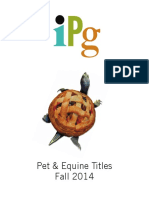 IPG Fall 2014 Pets & Equine Titles