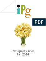 IPG Fall 2014 Photography Titles