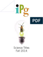 IPG Fall 2014 Science Titles