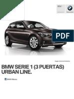 Ficha Tecnica BMW 118iA (3 Puertas) Urban Line Automatico 2015
