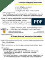 Virtual & Physical Address