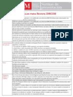 Normas Presentacion Articulos Para Revista Dircom
