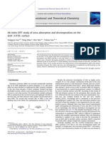 Ab Initio DFT Study of Urea Adsorption and Decomposition on the ZnO Surface