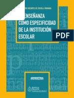 Mirta Torres - La Enseñanza Como Especificidad de La Institución Escolar.pdf Material Oblig Clase 3