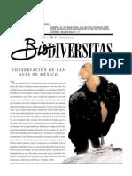 Áreas Prioritarias Para La Conservación de Las Aves de México