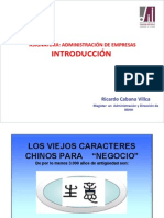 Administracion de Empresas 1 -2014B