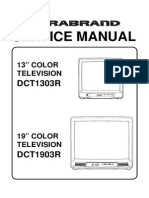 Durabrand DCT1303R_DCT1903R Manual de Servicio