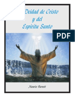 La Deidad de Cristo y El Espíritu Santo