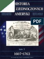 Historia Stanów Zjednoczonych Ameryki, Tom 1, A. Bartnicki, D. T. Critchlow