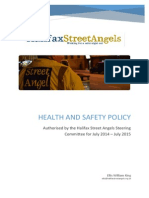 Health & Safety Policy 2014 - 2015