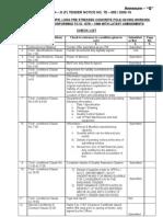Annexure - q (Check List)