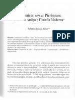 Bolzani Academicos Versus Pirronicos