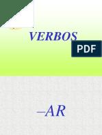 Verbos ar, er, irregulares de 1 p sg.ppt