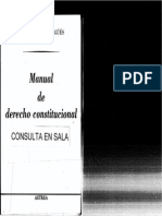 Manual de Derecho Constitucional - Sagues, Nestor