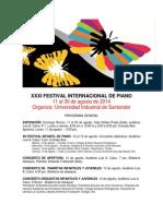 PIANO Programa 2014