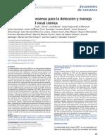 Documento de Consenso Para La Detección y Manejo de La Enfermedad Renal Crónica