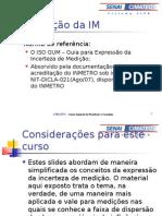7 - Incerteza de medicao 2008