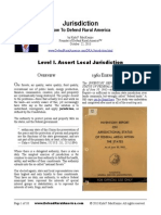 Jurisdiction- How Ro Defend Rural America