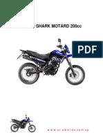 Yumbo Shark Motard 200 - Manual de Servicios
