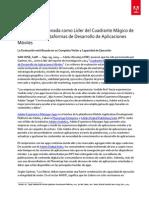 2014-0909 Adobe Leader in Gartner Magic Quadrant