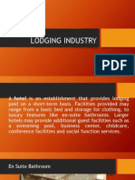 Lodging Industry