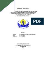 Contoh Proposal Sdm sss