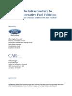 Infrastructure to Support Alternativa Fuel
