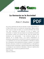 Drucker Peter La Gerencia en La Sociedad Futura