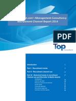 Top-consultant 2014 Recruitment Channel Report