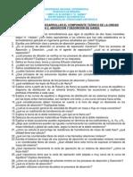 Cuestionario Para Desarrollar El Componente Tec3b3rico Delaunidad Temc3a1tica Absorcic3b3n Gaseosa