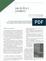 Antonio Lopes de Sa e o Neopatrimonialismo