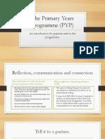 PYP for Parents