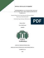 Proposal Skripsi Sistm Pendistribusian ATK