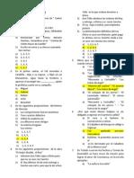 EXAMEN DE  LITERATURA N°3