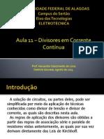Eletrotécnica - Aula 11 - Divisores Em Corrente Contínua