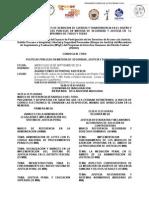 Programa del foro Políticas Públicas en Materia de Seguridad, Justicia y Derechos Humanos