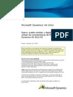 Microsoft Dynamics AX 2012 R2