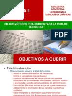 Tema II Estadística Descriptiva- Herramientas Tabulares y Gráficas(1)