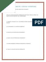 Cuestionario de Consumo Sustentable ( Ambiental) 2
