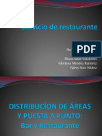 Servicio de Restaurante