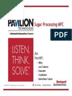 MPC for Sugar Processing