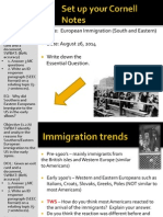 WEBNOTES - Day 2 - 2014 - European - Immigration