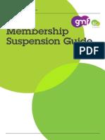 GMF - Membership Suspension Guide