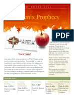the phoenix prophecy september 2014-2015