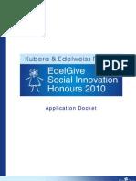 Application Docket