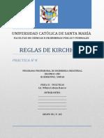 Reglas de Kirchhoff Informe