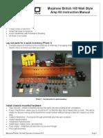 British 100 Watt Manual